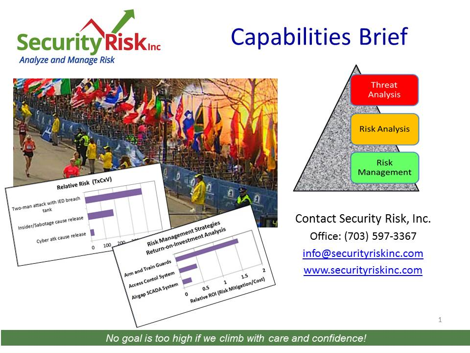 Capabilities Brief - Security Risk, Inc.